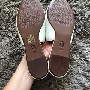 41d838f1d88d Tory Burch Shoes - TORY BURCH Sienna Woven Leather Pointy Toe Mule